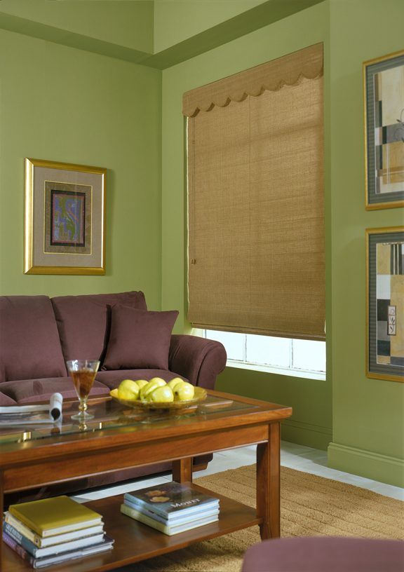 Woven Wood With Privacy Liner